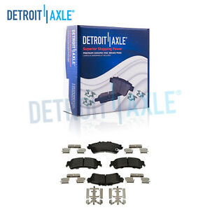 Rear Ceramic Brake Pads For Escalade Astro Silverado Sierra 1500 Yukon Deville