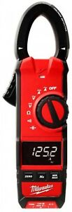 Milwaukee Digital Clamp Meter 600 Amp Ac dc Built in Voltage Detector Led Light