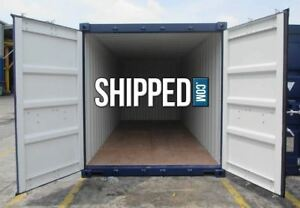 Certified Sea Worthy 20ft New One trip Shipping Container In Memphis Tennessee