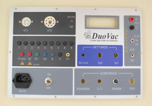 Front Panel For The Vacuum Tube Tester