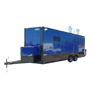 Concession Trailer 8 5x20 Food Event Catering