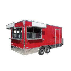 Concession Trailer 8 5x18 Food Catering Event