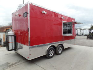 Concession 8 5x16 Food Event Catering Trailer