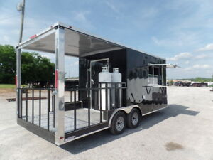8 5 X 20 Concession Food Catering Vending Trailer