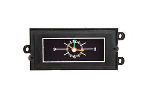 New 1971 1972 1973 Mustang Cougar Battery Powered Dash Console Clock