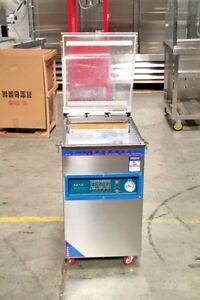 New Commercial Double Vacuum Food Sealer Machine Restaurant Equipment warranty