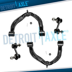 Front Upper Control Arm Ball Joint Sway Bar Link For 2004 2015 Nissan Titan