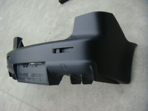 Evo X Style Rear Bumper Cover For 2008 15 Mitsubishi Lancer Black Unpainted
