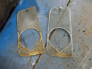 1963 Fordson Super Dexta Diesel Farm Tractor Grill Screens