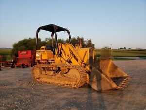 1979 John Deere 450c Track Loader Diesel Engine Hydraulic Construction Machine