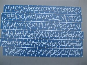 Monotype Corsiva Reversed Engraving Font Set For New Hermes Gl15