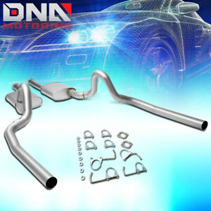 For 1996 1997 Ford Mustang Stainless Steel Dual Muffler Catback Exhaust System