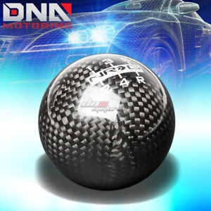 Nrg Anodized Ball Style Weighted 5 6 Speed Gear Shifter Shift Knob Carbon Fiber