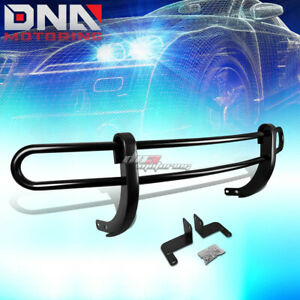 For 08 15 Nissan Rogue Suv Black Coated Double Tube Rear Bumper Protector Guard
