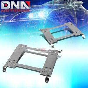 Nrg For 98 02 Accord Cg Stainless Steel Racing Seat Mounting Bracket Rail track