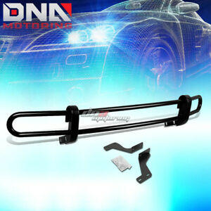 For 09 16 Toyota Venza Suv Black Coated Double Tube Rear Bumper Protector Guard