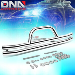 For 87 06 Jeep Wrangler Oe Style Stainless Steel Chrome Bumper Brush Grill Guard