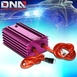 Purple Electronic Electric Car Battery Power Voltage Stabilizer Ground Regulator