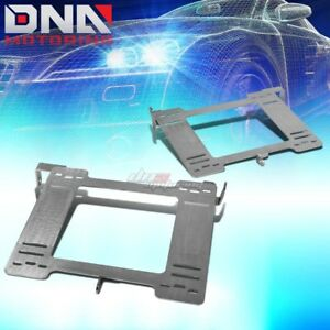 Nrg For Mk3 Vw Golf Gti Stainless Steel Racing Seat Mounting Bracket Rail Track