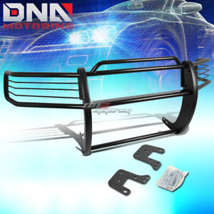 For 94 01 Dodge Ram 1500 3500 Chrome Stainless Steel Front Grill Guard Flame