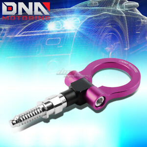 7 M15 8xp3 175 Front Rear Purple Racing Tow Hook For 97 06 Bmw 3 5 7 Z Series