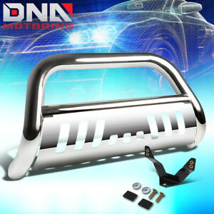 Fit 2015 2017 Chevy Colorado Gmc Canyon 3 Bull Bar License Plate Relocation Kit