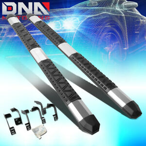 For 2009 2018 Dodge Ram Truck Ext Cab Pair Light Weight 5 Aluminum Nerf Step Bar