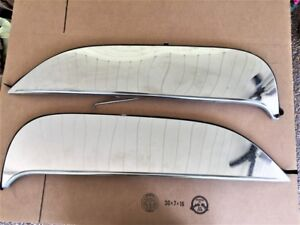 1966 67 Plymouth Belvedere Fender Skirts Stainless N O S Foxcraft Pbs 66s