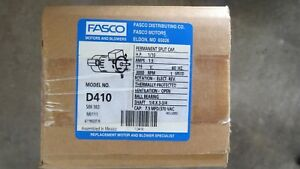 Fasco D410 Flue Exhaust And Draft Booster Blower Motor 1 10 Hp Free Shipping