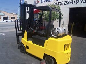 Hyster Forklift Propane Gas 6000 Lbs