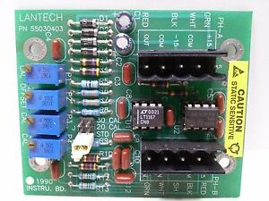 Lantech 55030403 Load Cell Amp Pcb