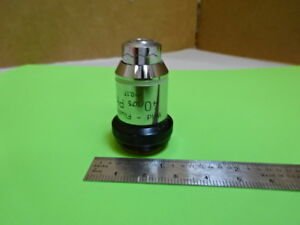 Wild Heerbrugg Swiss M20 Objective Phase 40x Microscope Part Optics As Is