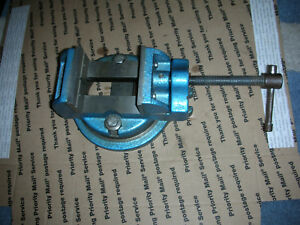 Palmgren 3 Inch Swivel Vise Great Shape For Drill Press Mini Mill Usa Made