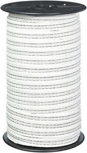 Gallagher G623044 Electric Fence 1 2 inch Polytape 656 feet White