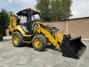 2013 Cat 420f Backhoe Loader