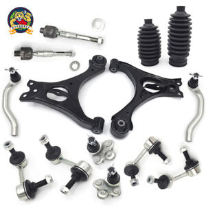For 06 11 Honda Civic 1 3l 1 8l Lower Control Arm Ball Joint Sway Bar Tierod Kit