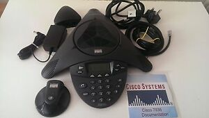 Cisco 7936 Cp 7936 Unified Conference Phone Full Complete System With Mic