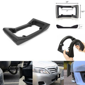 Car Front Bumper Guard Eva License Plate Frame Tag Cover Protector Protection