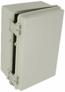 Electrical Enclosure Box Indoor Wall Mount Industrial Solid Plastic Hing Cabinet