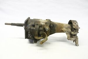 Original 1956 Plymouth Three Speed Long Shaft Transmission Assembly Dodge Mopar