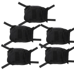 5 Pcs Tactical Army Gear FAST Camo Helmet Accessories Cover without Helmets