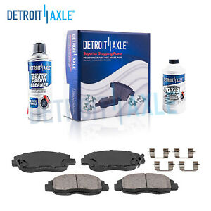 Front Ceramic Brake Pad For 1996 2011 Civic 1990 2002 Accord 2010 2014 Insight