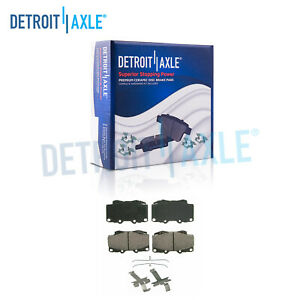 Front Ceramic Brake Pads For 1999 2000 2001 2002 2003 2004 Toyota Tacoma 6 Lug