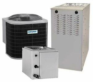 5 Ton 14 Seer 80 afue 132k Btu Airquest By Carrier Ac heat System