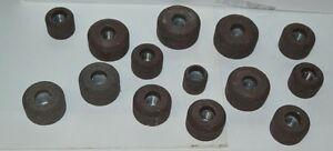 Valve Seat Grinding Stone Set 14 Pcs 80 Grit Black And Decker