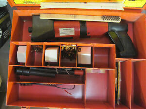 Hilti Fastening Systems Dx600n Powder Actuated Fastener With Case a02