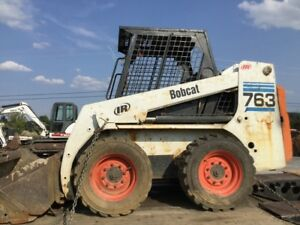 1999 Bobcat 763 Skid Steer Loader Coming Soon