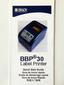 Brady Bbp30 Sign And Label Printer Prints Professional 4 25 Labels