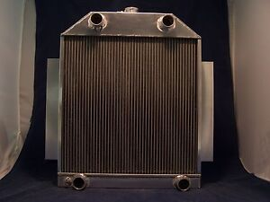 1948 1949 1950 1951 Ford Car Flat Head Aluminum Radiator Made In Usa