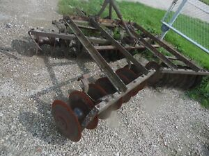 Allis Chalmers Ca Farm Tractor 8 Snap Coupler Disc Assembly